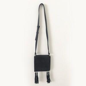 French Connection Fringed Over the shoulder Bag
